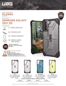 Ốp UAG Plasma Galaxy S21 Plus (chính hãng)